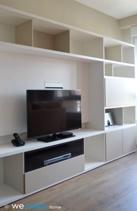 Mueble de salón TV librería - Gijón Asturias Muebles VIVE