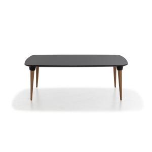 mesa púa rectangular negro