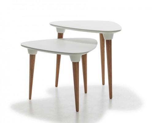 mesas púa dos alturas