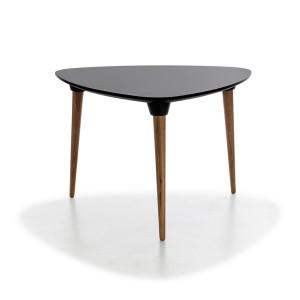 mesa púa equilátero negro