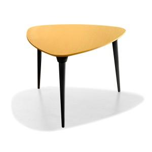 mesa púa equilátero roble amarillo