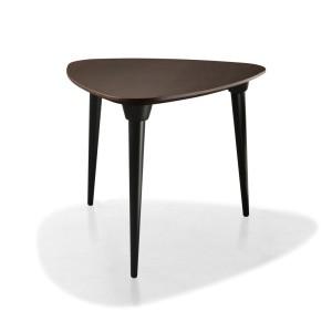 mesa púa combinado roble y negro