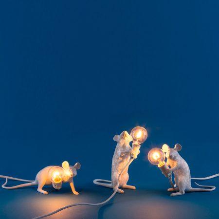 lámpara ratón Seletti