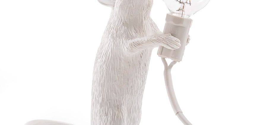 Lámpara ratón de pie