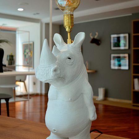 lámpara rinoceronte