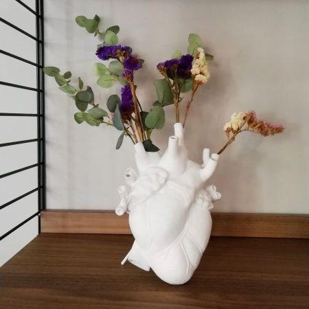 Love in Bloom Corazón de cerámica Seletti Marcantonio