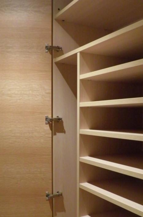 interior de armario empotrado a medida