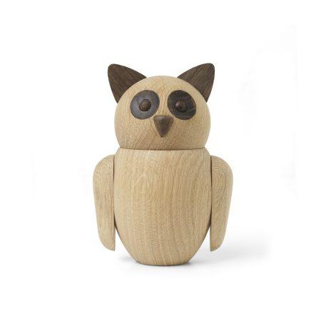 Figura de madera Buho