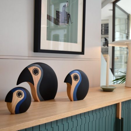 Discus Architectmader pájaros de madera