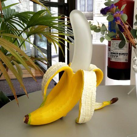 Lámpara banana de Seletti Asturias