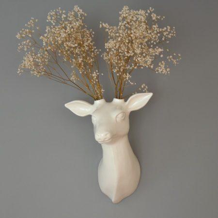 Trofeo ciervo de cerámica Gerardo - Guille García Hoz