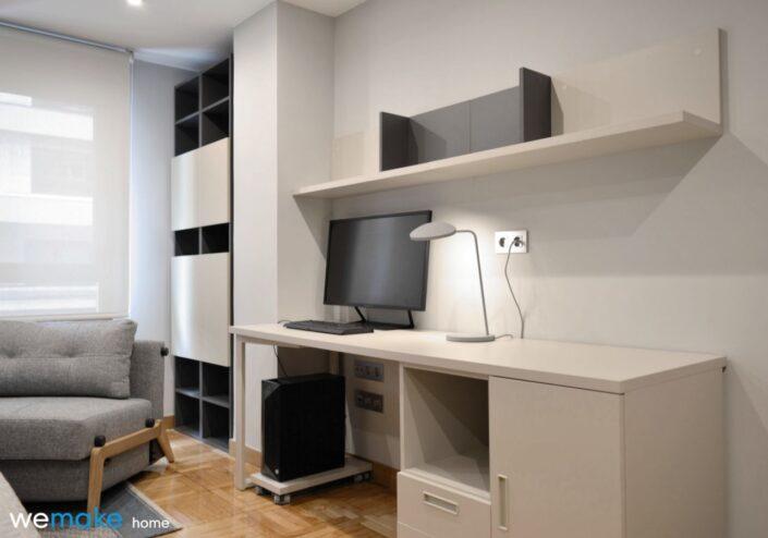 Zona de estudio en dormitorio juvenil - asturias - gijón