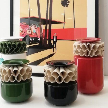 Jarrón cerámica portuguesa Laboratorio d'estorias