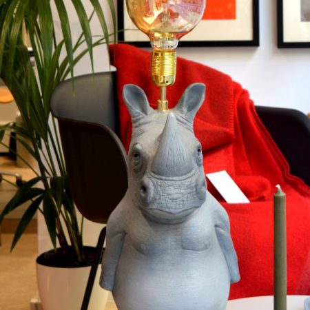 lámpara rinoceronte Ceferino ornamante
