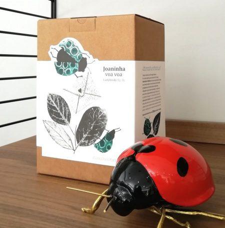 Mariquita de cerámica, cerámica insectos