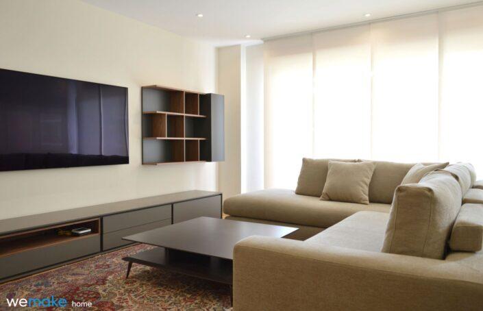 Muebles de diseño, mobiliario de salón TV asturias - gijón
