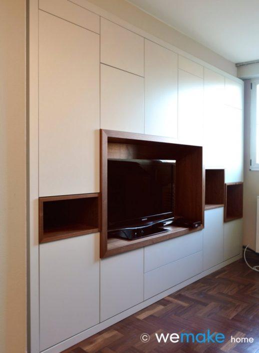 mueble a medida, proyectos de mobiliario en Gijón Asturias. Decoración.