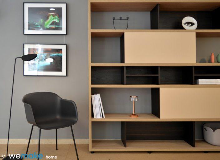 mueble librería diseño a medida