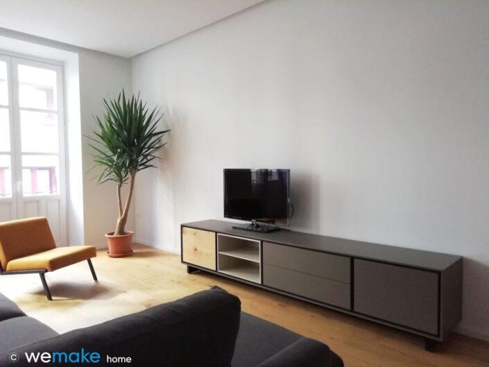 Mueble TV para salón - mobiliario diseño Asturias