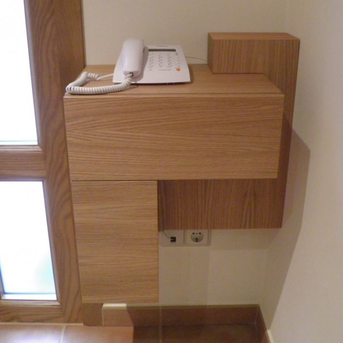 Mueble auxiliar diseño a medida